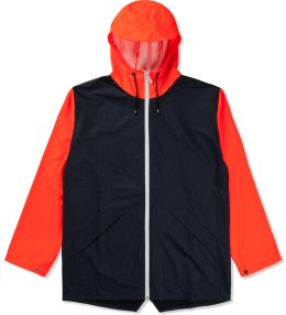 RAINS Blue Orange W Jacket Ltd Picture