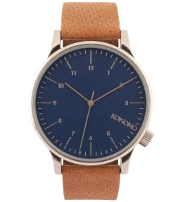 KOMONO Blue Cognac Winston Watch Picture