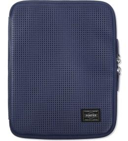 Head Porter Navy Merge iPad Case Picture