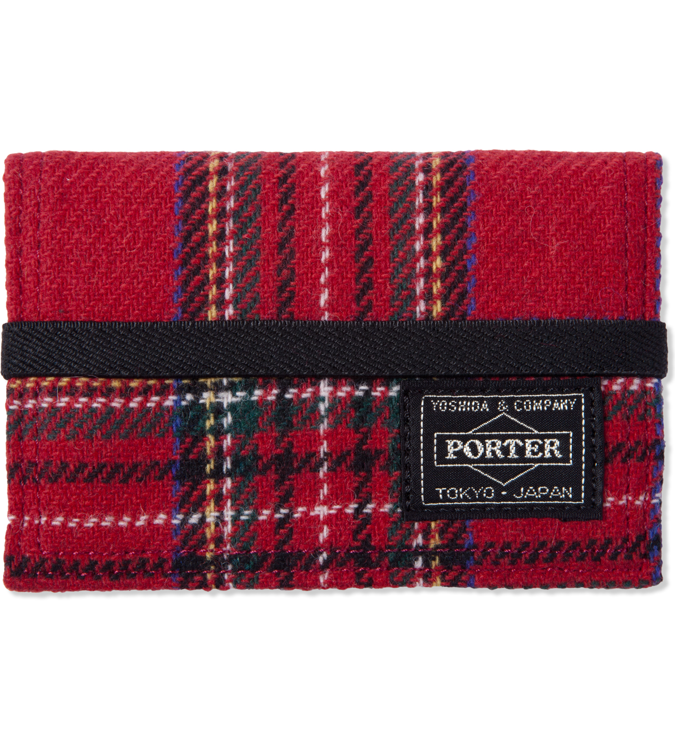 Head Porter Red Lesson Band Card Case