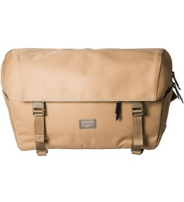 Crafted Goods Tan Carrera Messenger Bag Picture