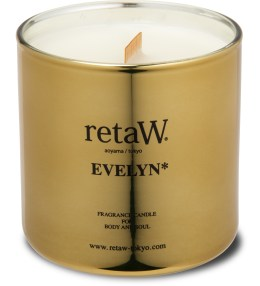 retaW Eveyln Gold Fragrance Candle Picture