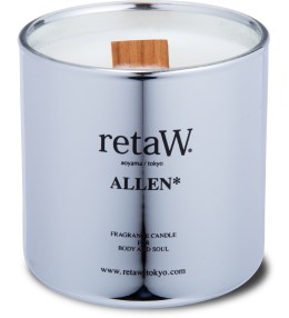 retaW Allen Silver Fragrance Candle Picture