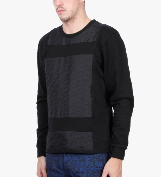 Opening Ceremony Black Magpie Jacquard Sweater