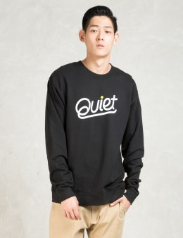 The Quiet Life Black Script Crewneck Sweatshirt Picture