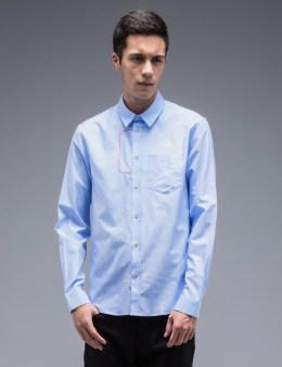 CARVEN L/S Oxford Shirt With Embroidery Picture