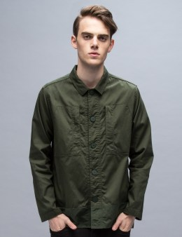 White Mountaineering Cotton Military Shirt Jacket Picture