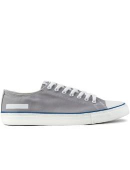 BEDWIN & THE HEARTBREAKERS Grey Rubbersole OG Sneakers Picture