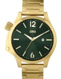 EDWIN Watch Gold With Green Dial Brook Picture