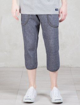 Bleu De Paname Contrast Tapered Sweat Pants Picture