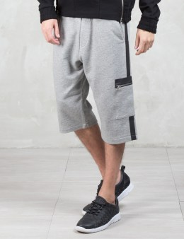 McQ Alexander McQueen Tapered Sweat Cargo Shorts Picture