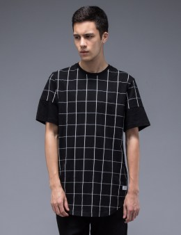 STAMPD Grid Scallop T-Shirt Picture