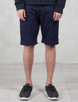 STONE ISLAND LDAUM Bermuda Shorts with Hidden Pocket Picture