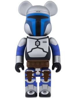 Medicom Medicom Toy 400% Bearbrick 400% Star Wars Jango Fett Picture