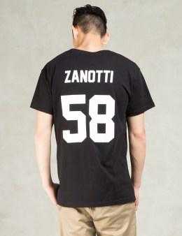 LES (ART)ISTS Black ZANOTTI58 Football T-Shirt Picture
