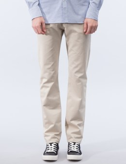 MAISON KITSUNE Cotton Jay Chino Pants Picture