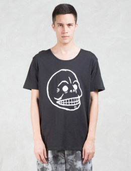 Cheap Monday Scoop Skull T-Shirt Picture