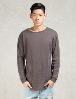 STAMPD Grey L/S Temper T-Shirt Picture