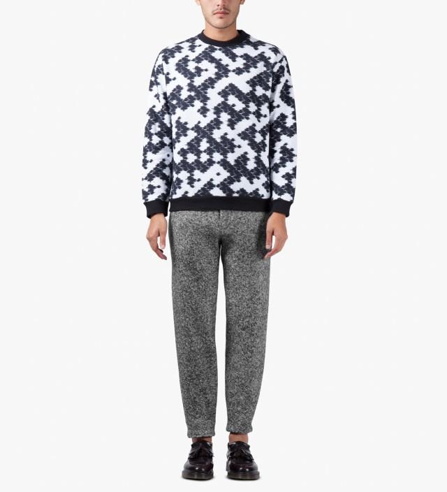 Msgm Speckle Grey Pantalone Trousers Hbx