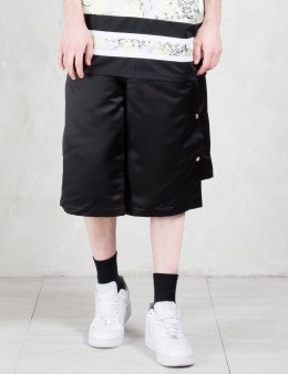 ASTRID ANDERSEN Layered Side Button Shorts Picture