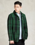 GARBSTORE Green Rydal Shawl Jacket Picutre