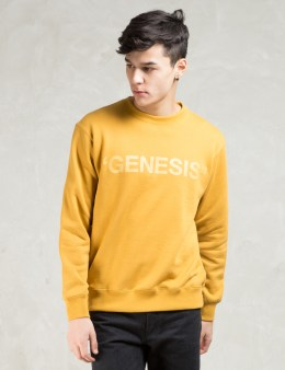 PHENOMENON Yellow Genesis Crewneck Sweatshirt Picture