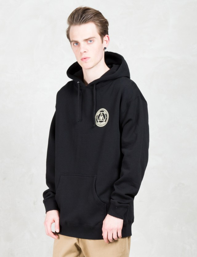 huf huf x obey triple triangle pullover hoodie hbx. Black Bedroom Furniture Sets. Home Design Ideas
