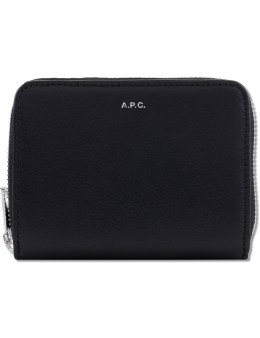 A.P.C. Leather Compact Wallet Picture