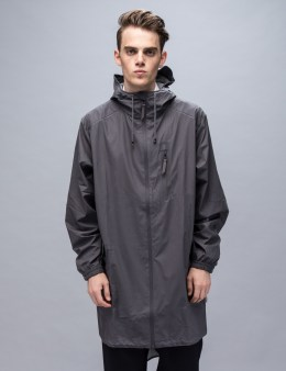 RAINS Grey Parka Coat Picture