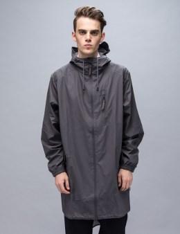 RAINS Grey Parka Coat Picture