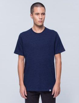 Norse Projects James Indigo Twist S/S T-Shirt Picture