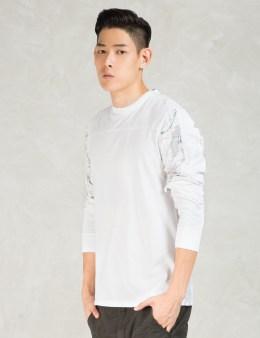 maharishi White Mahsat L/S T-shirt Picture
