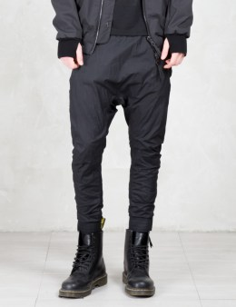 11 By Boris Bidjan Saberi Drop Crotch Nylon Pants Picture
