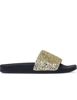 Palm Angels Glitter Pool Sliders Picture