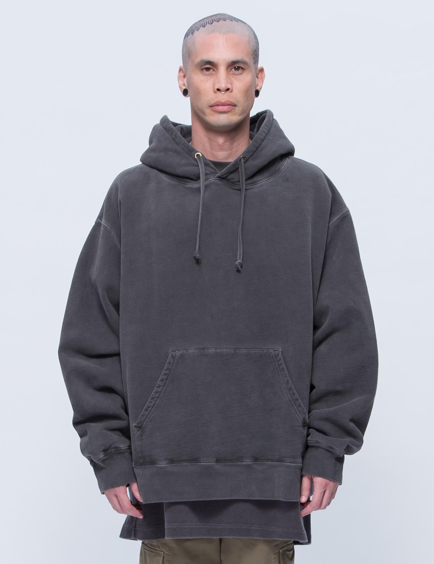 yeezy season 3 relaxed fit hoodie hbx
