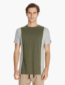 ZANEROBE Olive/grey Side Flintlock T-shirt Picture