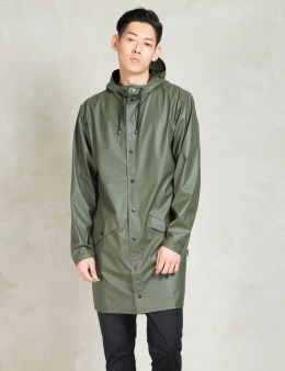RAINS Green Long Jacket Picture
