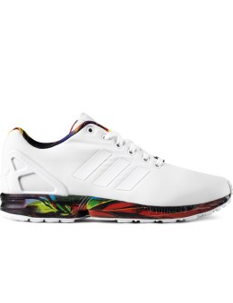 adidas Originals White AF6325 ZX FLUX Sneakers Picture