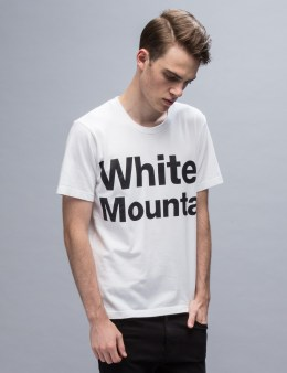 "White Mountaineering ""White Mountai"" Printed S/S T-Shirt Picture"