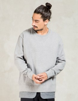 Casely Hayford Grey Buckley Jacket Hem Sweater Picture