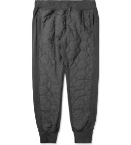 unyforme Heather Charcoal/Black Cooked Up Axel Sweatpants Picture
