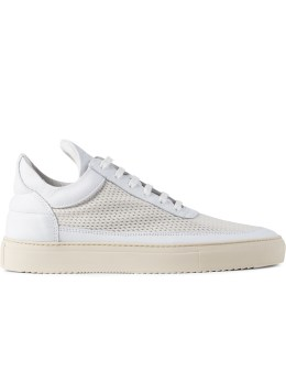 Filling Pieces White 3M Mesh Silva Low Top Sneakers Picture