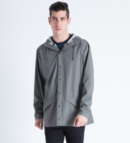 RAINS Grey Jacket Picture