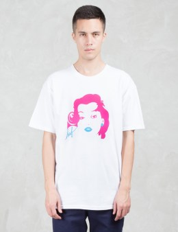 HUF Girl Script S/S T-Shirt Picture