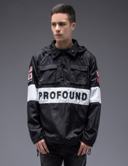 Profound Aesthetic Multi-Cargo Tech Pullover Jacket Picture