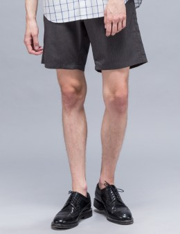 Maiden Noir Elastic Wool Shorts Picture
