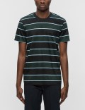 Ami Club Stripes Chest Pocket S/S T-Shirt Picture