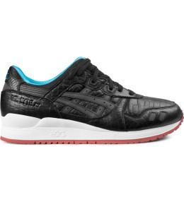 ASICS Black/Black Gel Lyte III Shoes Picture