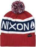 Nixon Red Teamster Beanie Picture