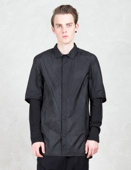 11 By Boris Bidjan Saberi Asymmetric Nylon Shirt Picture